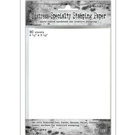 """Distress-Specialty Stamping Paper 4.25""""x5.5"""""""