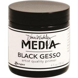 Dina Wakley-Black Gesso/Dose 118ml