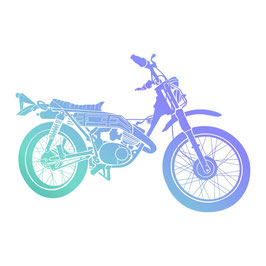 Couture Creations-Mini Stempel/Motorcycle
