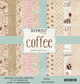 """Reprint-Coffee Collection 12x12"""""""