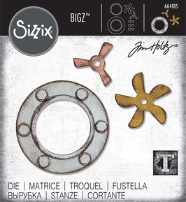 Sizzix by Tim Holtz Bigz-Stanzform/Steampunk Parts