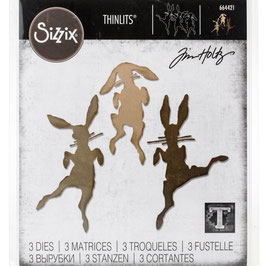 Sizzix by Tim Holtz Thinlits-Stanzform/Bunny Hop