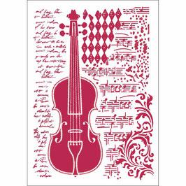 Stamperia-Stencil/Violon KSG425
