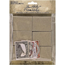 Idea-Ology by Tim Holtz/Matchboxes