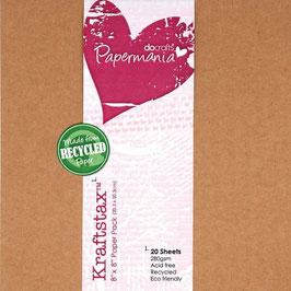 "Papermania-Cardstock 8x8"""
