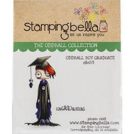 Stamping Bella-Cling Stamp/Oddball Boy Graduate
