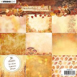 """Studio Light-Paper Pad Wonderful Autumn 6x6"""" Nr.149"""