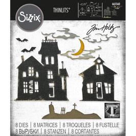 Sizzix by Tim Holtz Thinlits-Stanzform/Ghost Town #2