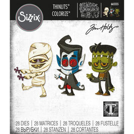 Sizzix by Tim Holtz Thinlits-Stanzform/Costume Party Colorize