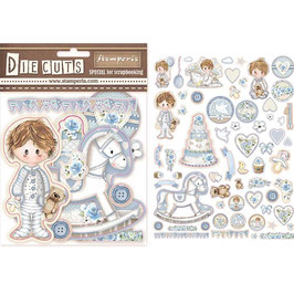 Stamperia-Die Cuts Little Boy