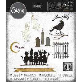 Sizzix by Tim Holtz Thinlits-Stanzform/Vault Series: Halloween 2021