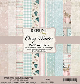 """Reprint-Cosy Winter Collection 12x12"""""""