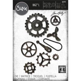 Sizzix by Tim Holtz Bigz L-Stanzform/Mechanical