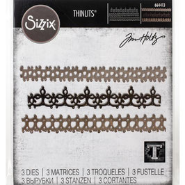 Sizzix by Tim Holtz Thinlits-Stanzform/Crochet #2