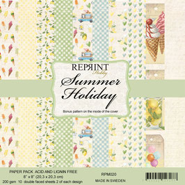 """Reprint-Summer Holiday Collection 8x8"""""""