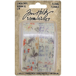 Idea-Ology by Tim Holtz/Linen Tape Floral