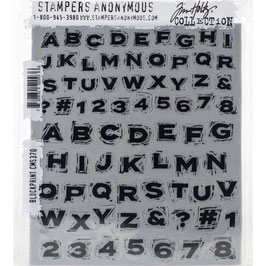 Stampers Anonymous by Tim Holtz-Stempel/Blockprint