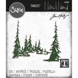 Sizzix by Tim Holtz Thinlits-Stanzform/Tall Pines