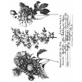 Tim Holtz Stempel Set-Flower Shop