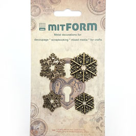 Mitform-Metall Charms/Christmas 6