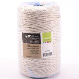 Vaessen Creative Cotton twine/1mm-220 Meter
