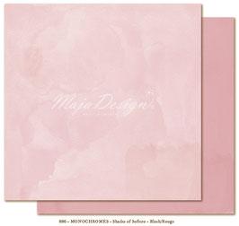 """Maja Design - Shades of Sofiero - Mono Blush Rouge - 12x12"""""""
