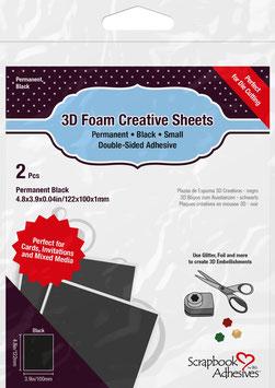 Scrapbook Adhesives-Creative Sheets Small/schwarz