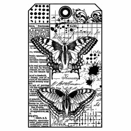 Stamperia-Stempel/Butterfly WTKCC145