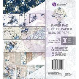 "Prima Marketing-Paper Pad Georgia Blues 6x6"""