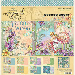 Graphic 45-Paper Pad Fairie Wings (1) 12x12""