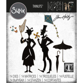 Sizzix by Tim Holtz Thinlits-Stanzform/The Park
