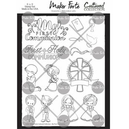 Maker Forte-Clear Stamps/My First Communion