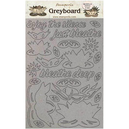 Stamperia Greyboard-Karton Stanzteile/Amazonia KLSPDA420