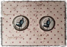 Home Made-Brads/Cabochon Steinen 3029