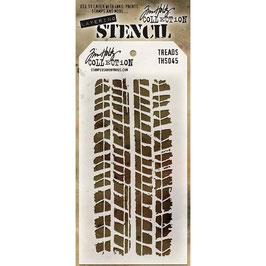 Tim Holtz-Stencil/Treads-THS045