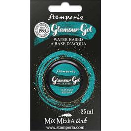 Stamperia-Glamour Glitter Gel/Star Blue