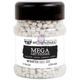 Finnabair-Mega Art Stones/White