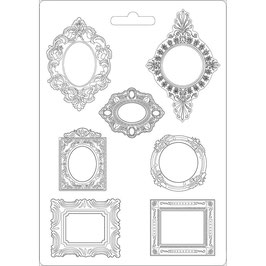 Stamperia-Soft Maxi Mould/Frames A4