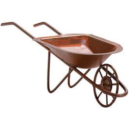 Darice-Timeless Miniatures/Rusty Tin Wheelbarrow