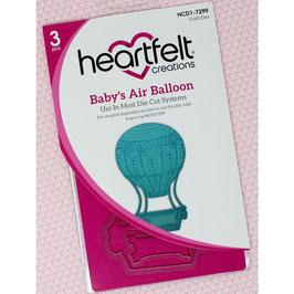 Heartfelt Creations Stanzform-Baby's Air Balloon