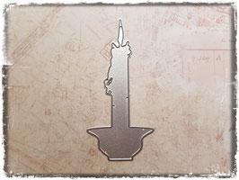 Stanzform-Kerze 2126