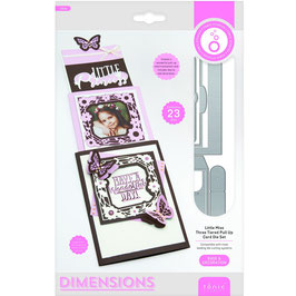 Tonic Studios Stanzform-Dimensions/Little miss-Three Tiered pull up Card-3459E