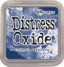 Distress Oxide Stempelkissen-chipped sapphire