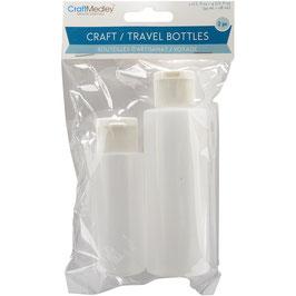 Craft Medley-Craft Travel Bottles/Nachfüllflaschen 2 Stück