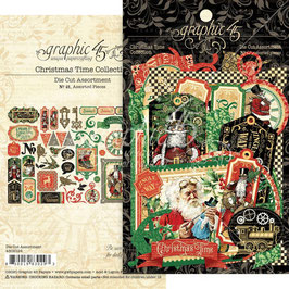 Graphic 45-Cardstock Christmas Time