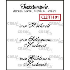 """Crealies-Clear Stamps """"Hochzeit 01"""""""