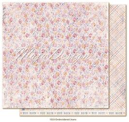 Maja Design-Denim & Girls/Embroidered Jeans
