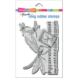 Stampendous! Stempel-Dragonfly Song