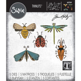 Sizzix by Tim Holtz Thinlits-Stanzform/Funky Insects