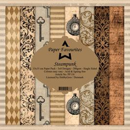 "Paper Favourites-Steampunk 6x6"""